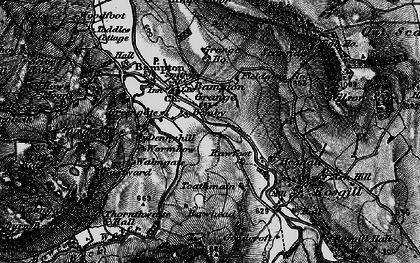 Old map of Toathmain in 1897