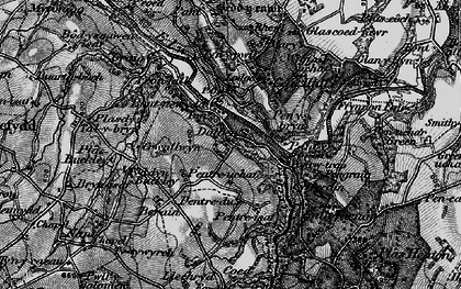Old map of Graig in 1897