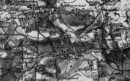 Old map of Bonvilston in 1897