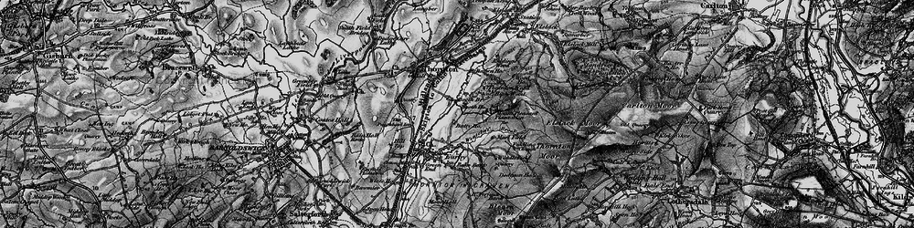 Old map of Windle Field in 1898