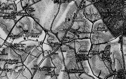 Old map of Boothville in 1898