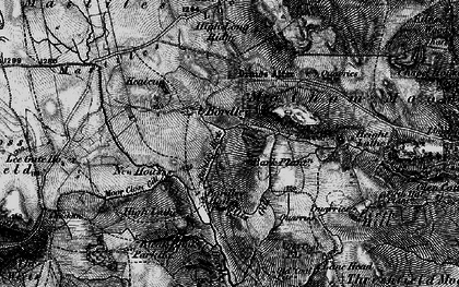 Old map of Bark Plantn in 1898