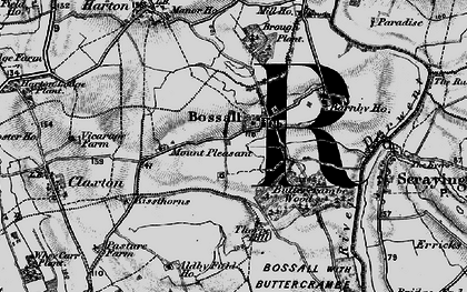 Old map of Aldby Field Ho in 1898