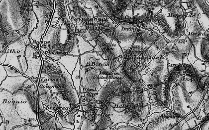 Old map of Boswin in 1895