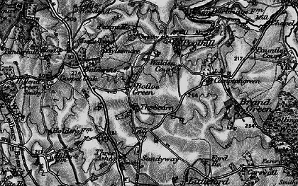 Old map of Botloe's Green in 1896