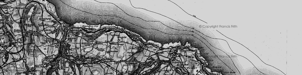 Old map of White Stones in 1898