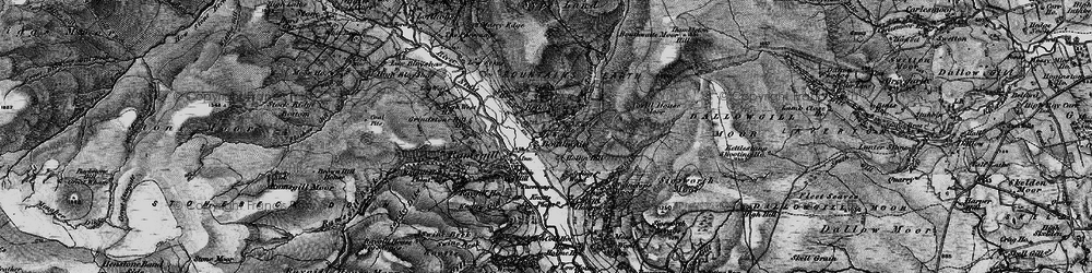 Old map of Light Hill in 1897