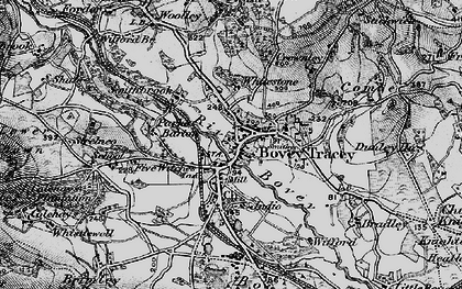 Old map of Wifford in 1898