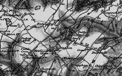 Old map of Bovingdon in 1896