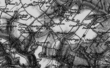 Old map of Bovingdon Green in 1896