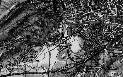 Old map of Bower Ashton in 1898