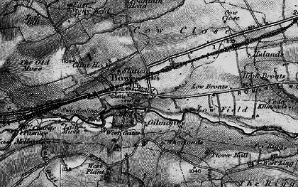 Old map of West Stoney Keld in 1897