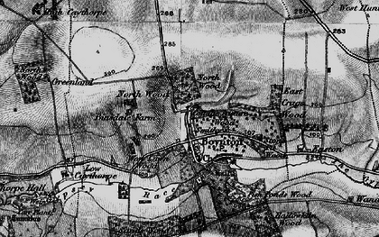 Old map of Boynton in 1897