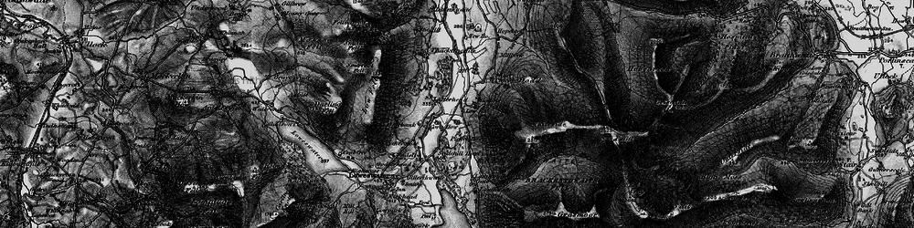 Old map of Latterhead in 1897