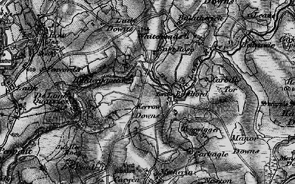Old map of Whiteheads in 1895