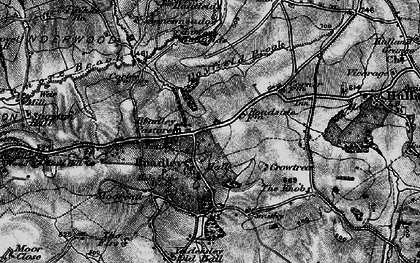 Old map of Agnes Meadow in 1897