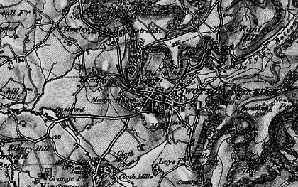 Old map of Wotton Hill in 1897