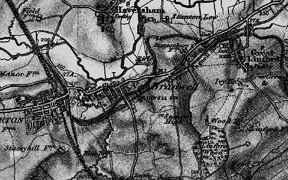 Old map of Bradville in 1896