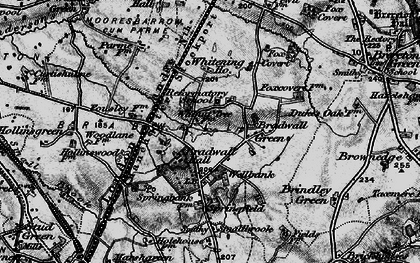 Old map of Whitening Ho in 1897
