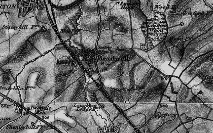 Old map of Bradwell in 1896