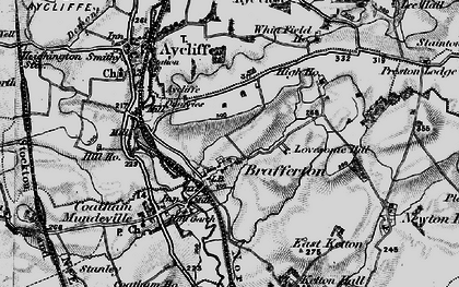 Old map of Whinfield Ho in 1897