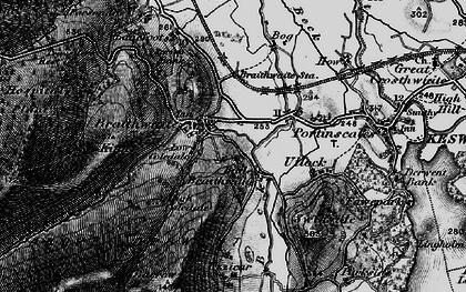 Old map of Braithwaite in 1897