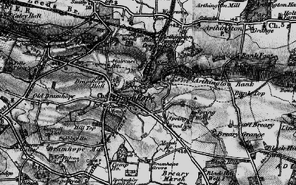 Old map of Bramhope in 1898