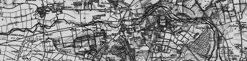 Old map of Wiltonhill Wood in 1898