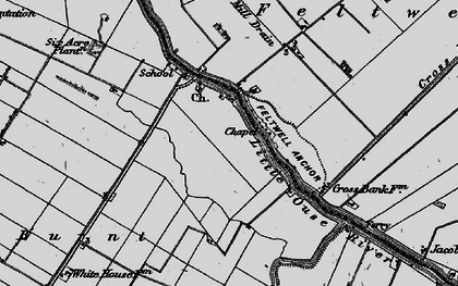 Old map of Brandon Bank in 1898