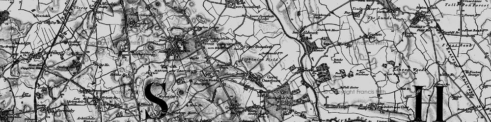 Old map of Lightmire Field in 1898