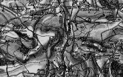 Old map of Breach in 1898