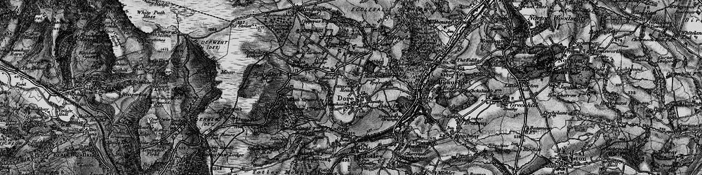 Old map of Limb Brook in 1896