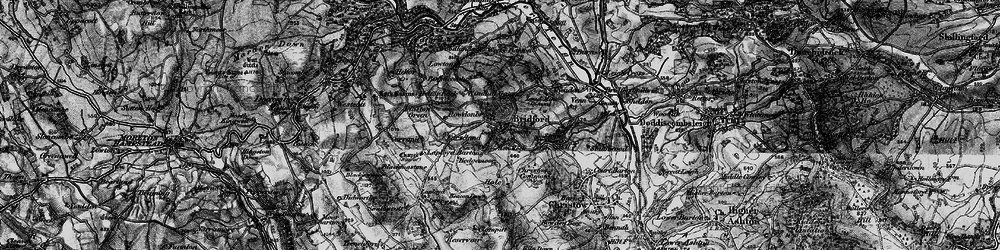 Old map of Windhill Gate in 1898