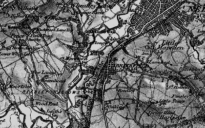 Old map of Brierfield in 1898