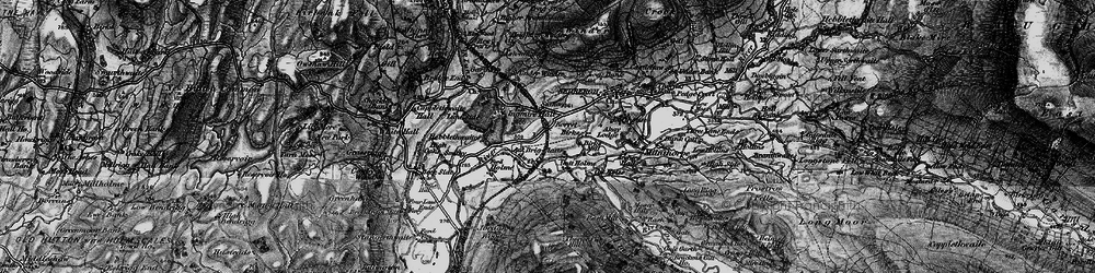 Old map of Abbot Holme in 1897