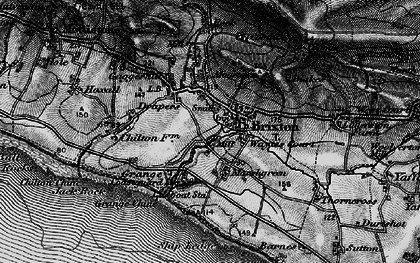 Old map of Brighstone in 1895
