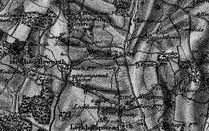 Old map of Brightwalton Holt in 1895
