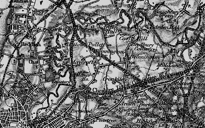 Old map of Brinnington in 1896