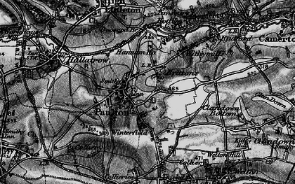 Old map of Britten's in 1898