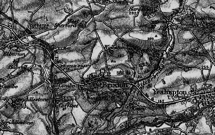 Old map of Winston in 1897