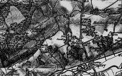 Old map of Langton Lodge in 1895