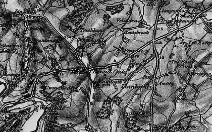 Old map of Broad Oak in 1896