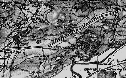 Old map of Broad Oak in 1898