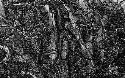 Old map of Wotton Common in 1896