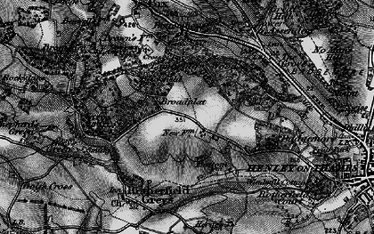 Old map of Broadplat in 1895