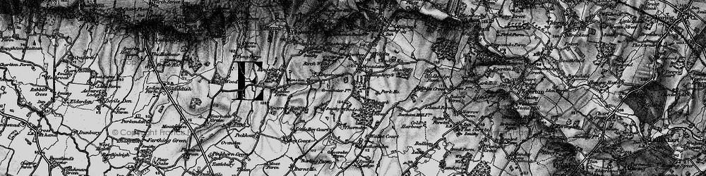 Old map of Woodsden in 1895