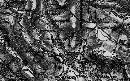 Old map of Alicehead in 1896