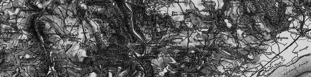 Old map of Brockweir in 1897