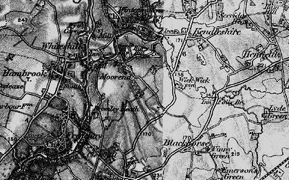 Old map of Bromley Heath in 1898
