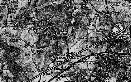Old map of Langtons in 1896